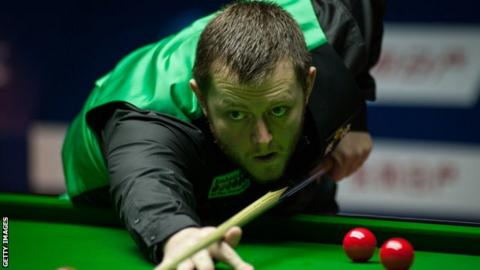 Mark Allen beat Oliver Lines on Saturday