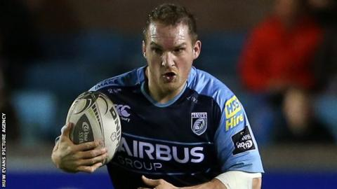 Gethin Jenkins rejoined Cardiff Blues from Toulon in 2013