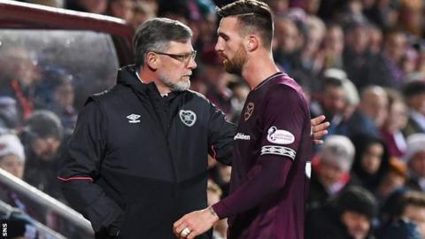 Hearts end David Vanecek contract year early after striker makes only four starts