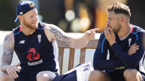 Ben Stokes and Alex Hales