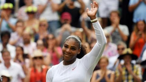 Williams looks to extend Slam finals streak at Wimbledon