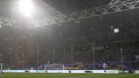 Sampdoria stadium