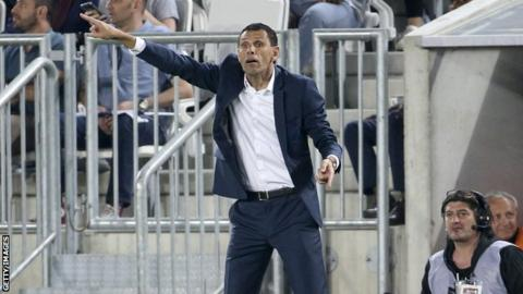 Bordeaux coach Gustavo Poyet faces sack over striker sale rant