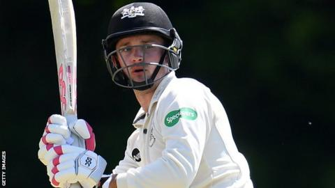 Gareth Roderick batting for Gloucestershire