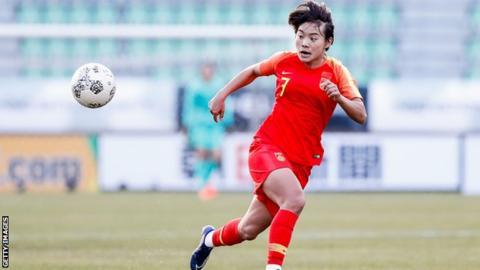 China women's football team