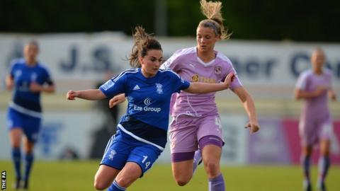 Birmingham City Ladies v Reading Women