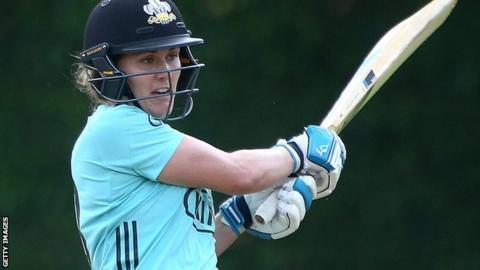 Surrey Stars captain Natalie Sciver