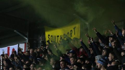 Southport fans