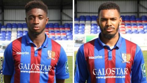 Junior Ogedi-Uzokwe and Ryan Gondoh