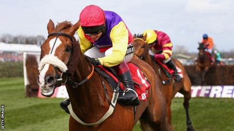 English National Hunt jockey Richard Johnson