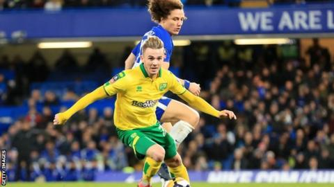 Norwich want £25 million for Maddison