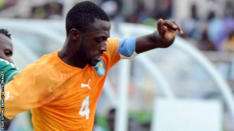 Ivory Coast defender Marc Goua