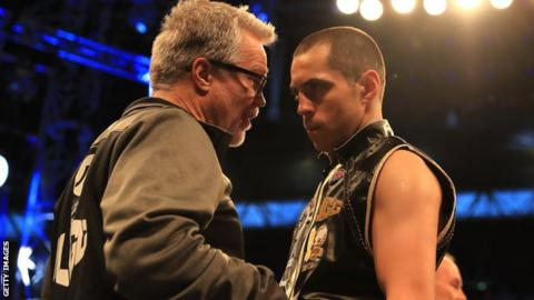 Quigg started working with trainer Freddie Roach in 2017