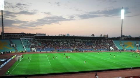 Vasil Levski stadium general shot