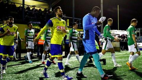 Haringey Borough v Yeovil Town