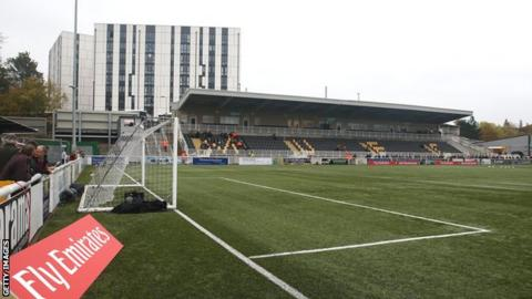 Maidstone United Gallagher Stadium
