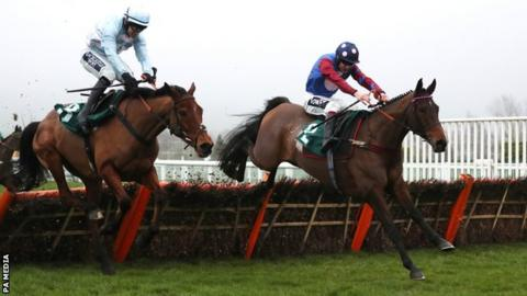 Paisley Park and Aidan Coleman at Cheltenham