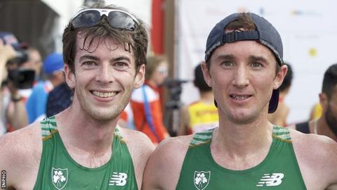 Paul Pollock will not now join Kevin Seaward in Sunday's men's marathon in Australia