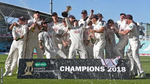 Surrey champions