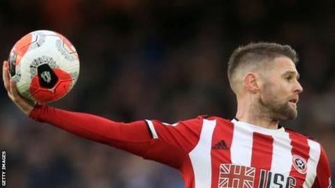 Sheffield United midfielder Oliver Norwood
