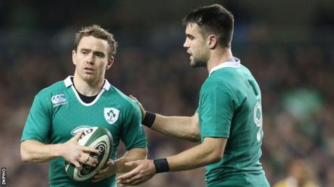 Eoin Reddan and Conor Murray