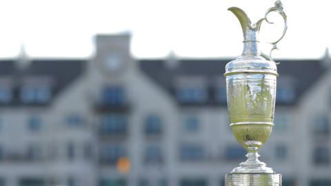 The Claret Jug at Carnoustie
