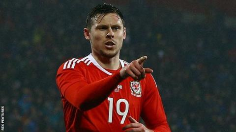 Striker Simon Church was part of the Wales side that reached the Euro 2016 semi-finals