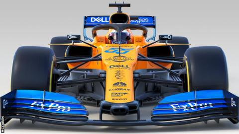 McLaren unveil 2019 car
