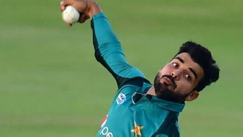 Pakistan spinner Shadab Khan