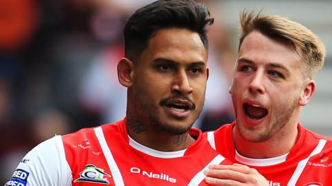 Nine of Ben Barba's 12 Saints tries this season have come at the Totally Wicked Stadium