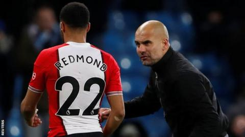 Nathan Redmond denies claims made about what Pep Guardiola said to him