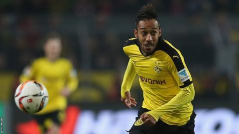 Gabon and Borussia Dortmund striker Pierre-Emerick Aubameyang
