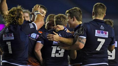 Sitting second in Pro14 Conference B, Edinburgh face the rest of the top five in their final seven games