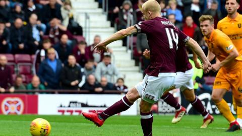 Steven Naismith failed to score from a first-half penalty kick