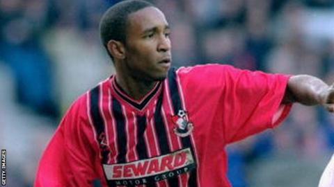 Jermain Defoe during his spell at Bournemouth