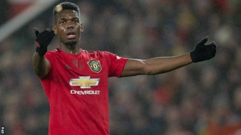 Pogba out for a few weeks, confirms Man Utd boss Solskjaer