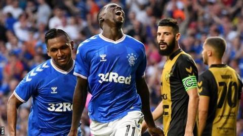 Sheyi Ojo doubled Rangers' advantage with a superb strike