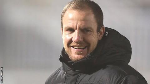 Hartlepool United assistant Sam Collins