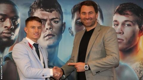 Smith will work under Matchroom Boxing promoter Eddie Hearn