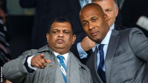 Tony Fernandes and Les Ferdinand