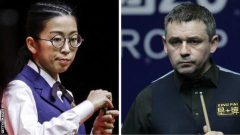 Ng On Yee and Alan McManus
