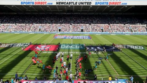 Magic Weekend at Newcastle's St James' Park