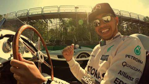 Hamilton won the British F1