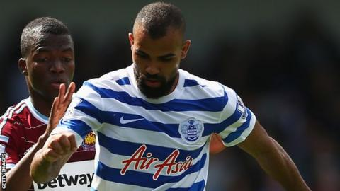 Sandro, in action for QPR