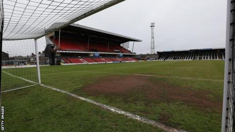 Blundell Park, home of Grimsby Town