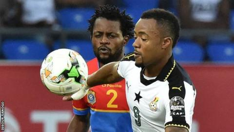 Avram Grant has launched a strong defence of Jordan Ayew (right)