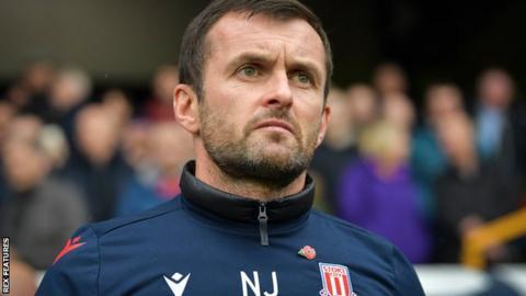 Nathan Jones Stoke City