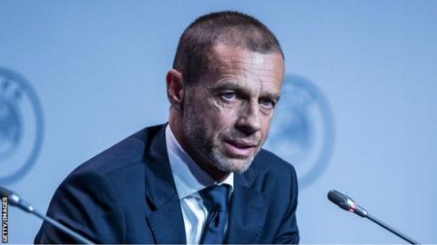 Champions League and Europa League could be abandoned if coronavirus restrictions remain in September, says Uefa president