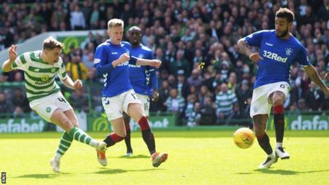 James Forrest scores for Celtic