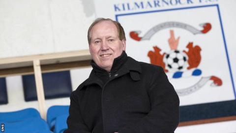 Kilmarnock chairman Jim Mann